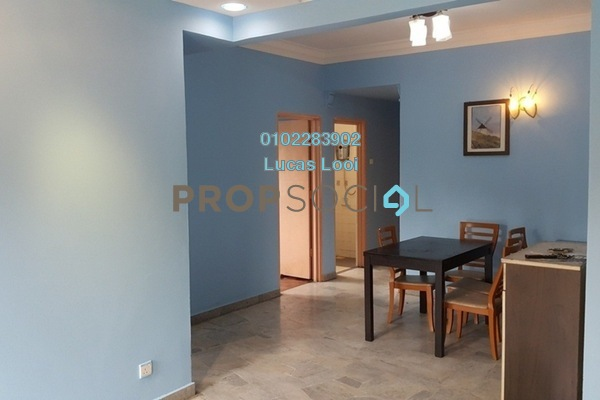 Apartment For Sale in Seri Kasturi, Bandar Kinrara Freehold Semi Furnished 3R/2B 350k