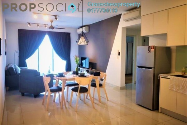 Serviced Residence For Rent in Teega, Puteri Harbour Freehold Fully Furnished 2R/2B 2.68k