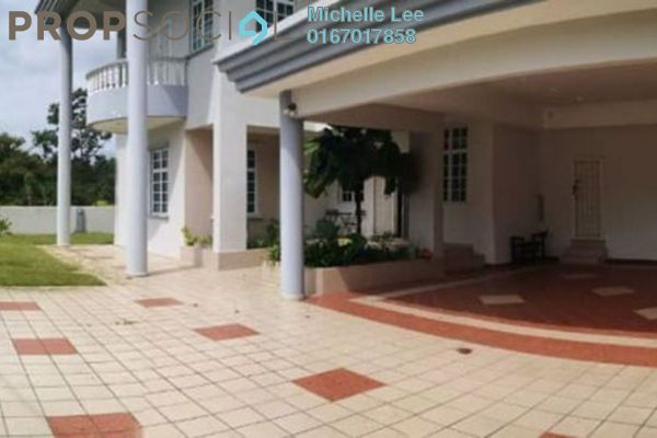 Bungalow For Rent in Jalan Straits View, Johor Bahru Freehold Fully Furnished 8R/8B 6k