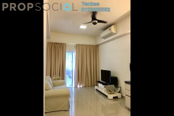 For Rent Condominium at The Wharf, Puchong Freehold Fully Furnished 1R/1B 1k