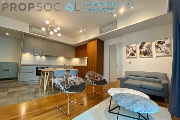 Condominium For Rent in Stonor 3, KLCC Freehold Fully Furnished 1R/1B 4k