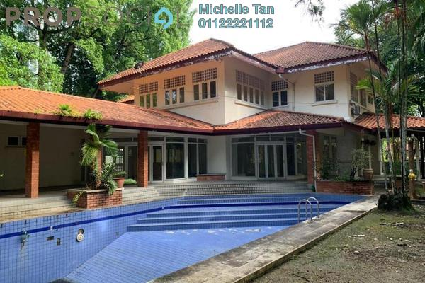 Bungalow For Rent in Taman U-Thant, Ampang Hilir Freehold Semi Furnished 5R/5B 26k