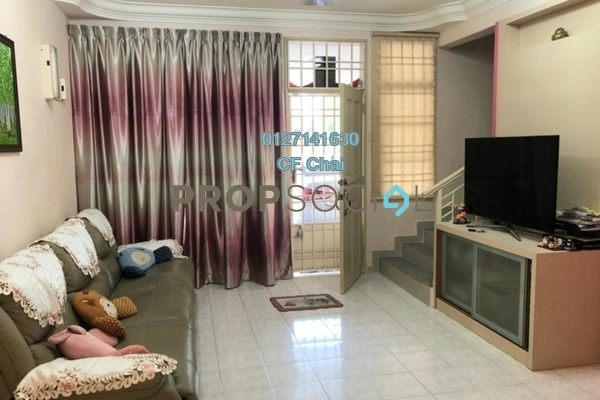 Terrace For Sale in Taman Mutiara Rini, Skudai Freehold Semi Furnished 3R/2B 465k