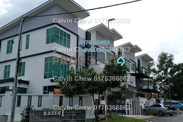 Terrace For Sale in Kazen @ Taman Saujana Puchong, Puchong Freehold Unfurnished 0R/0B 720k
