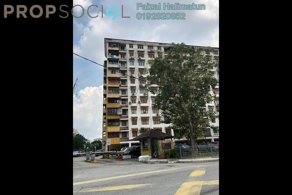 Apartment For Sale in Dahlia Apartment, Pandan Indah Freehold Unfurnished 3R/2B 320k