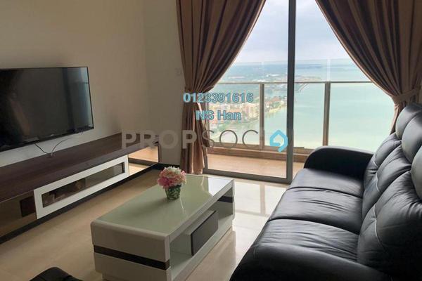 Serviced Residence For Sale in Silverscape @ Hatten City, Bandar Melaka Leasehold Fully Furnished 2R/2B 588k