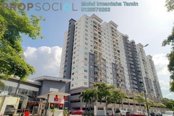 Condominium For Sale in Casa Idaman, Jalan Ipoh Leasehold Semi Furnished 3R/2B 360k