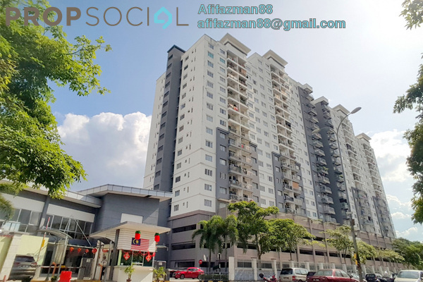 Condominium For Sale in Casa Idaman, Jalan Ipoh Freehold Semi Furnished 3R/2B 360k