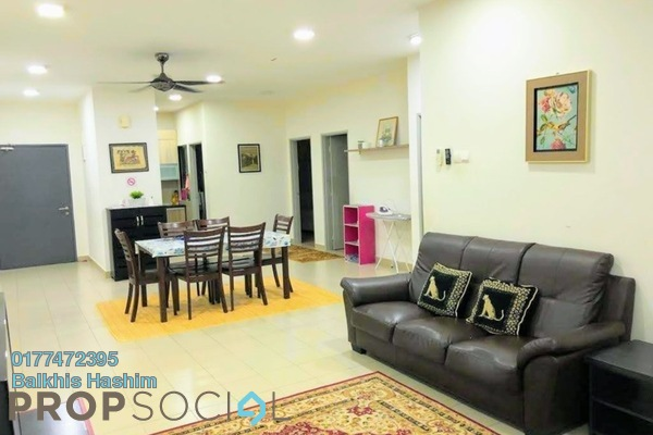 Serviced Residence For Rent in Residensi Alami, Shah Alam Freehold Fully Furnished 3R/2B 2.1k