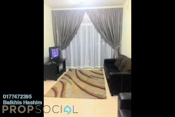 Condominium For Rent in Prima U1, Shah Alam Freehold Fully Furnished 3R/2B 2.1k