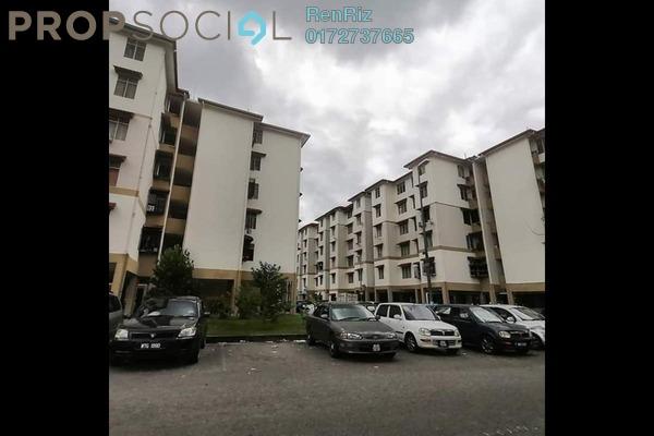 For Sale Apartment at Seri Cempaka, Cheras Freehold Semi Furnished 3R/1B 145k