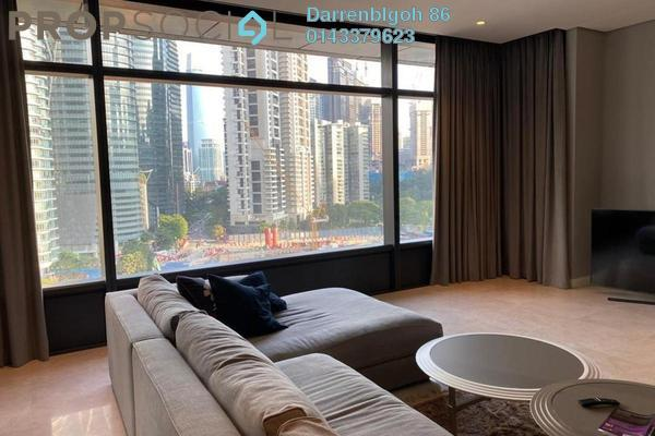 For Rent Condominium at The Troika, KLCC Freehold Fully Furnished 3R/5B 10k