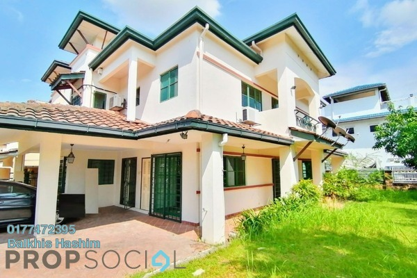 Terrace For Sale in Kubah, Bukit Jelutong Freehold Semi Furnished 5R/4B 1.39m