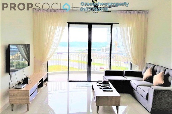 Condominium For Rent in Teega, Puteri Harbour Freehold Fully Furnished 2R/2B 2.3k
