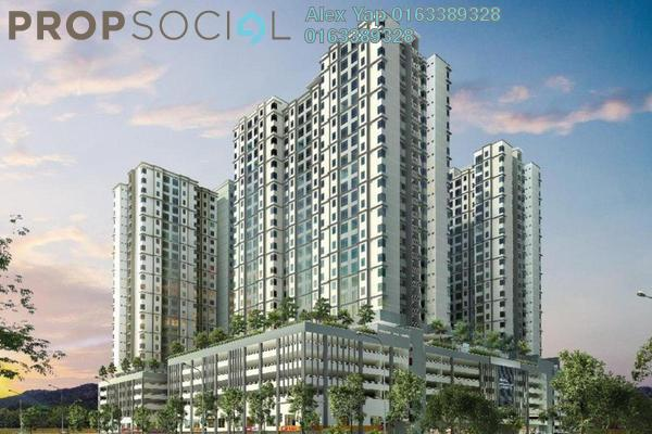 Apartment For Sale in Bangi Avenue, Kajang Freehold Unfurnished 4R/2B 270k