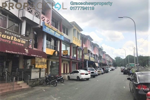 Shop For Rent in Taman Senai Utama, Senai Freehold Unfurnished 0R/0B 12k