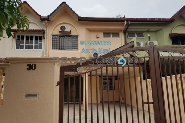 For Rent Terrace at Bangau, Bandar Puchong Jaya Freehold Unfurnished 4R/3B 1.3k