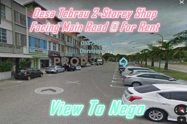 Shop For Rent in Taman Desa Tebrau, Tebrau Freehold Unfurnished 0R/0B 1.1k