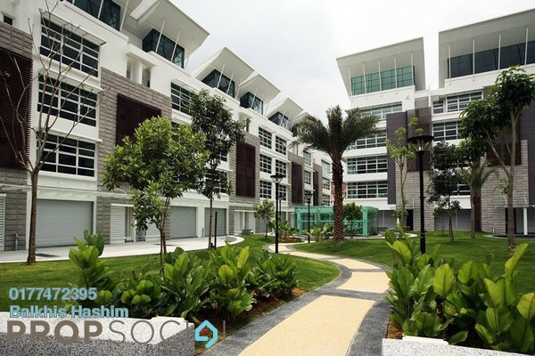 Office For Sale in Laman Seri, Shah Alam Freehold Semi Furnished 6R/10B 4.9m