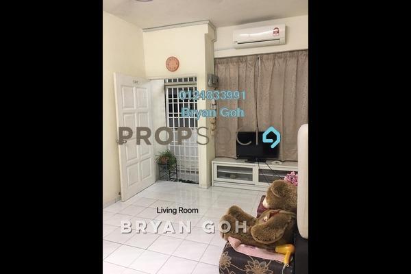 For Rent Apartment at Taman Century, Batu Uban Freehold Fully Furnished 3R/2B 1.2k