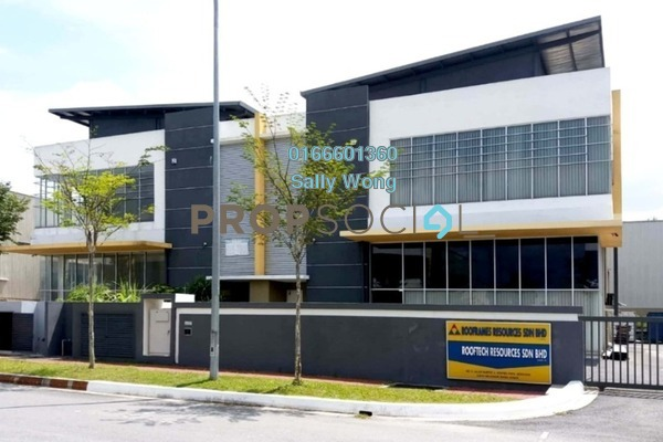 For Sale Factory at Semtec Park , Semenyih Freehold Unfurnished 1R/2B 2.2m
