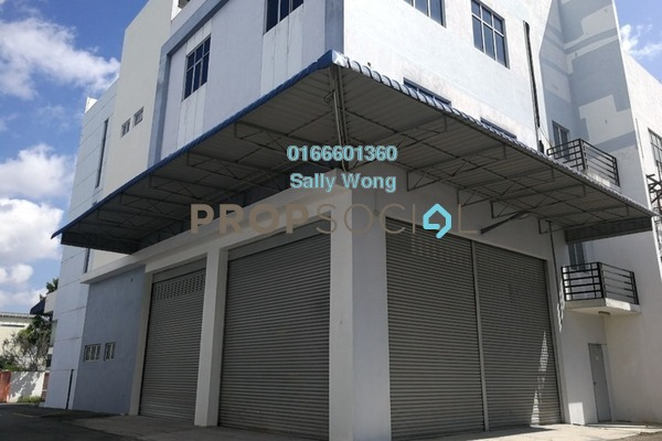 For Sale Factory at i-Parc2, Shah Alam Freehold Unfurnished 1R/2B 4m
