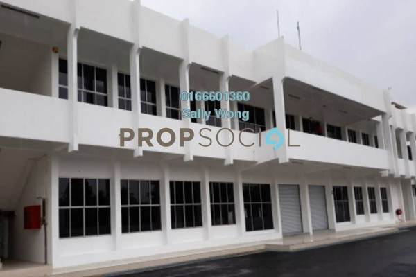 Factory For Sale in Cheras Jaya Industrial Park, Balakong Freehold Unfurnished 2R/1B 17m