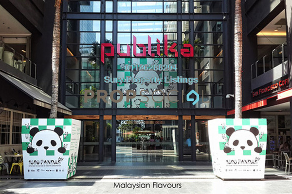 For Rent Office at Publika Shopping Gallery, Dutamas Freehold Semi Furnished 0R/0B 11k
