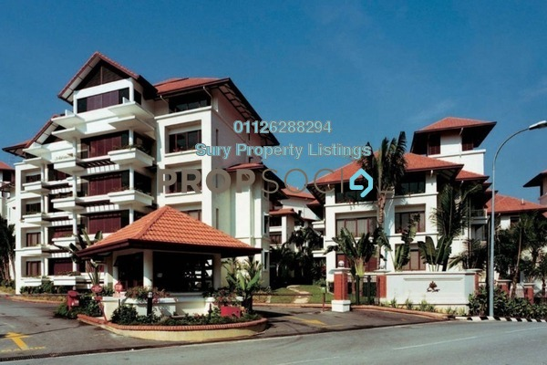Condominium For Sale in Seri Duta I, Kenny Hills Freehold Semi Furnished 2R/2B 1.3m