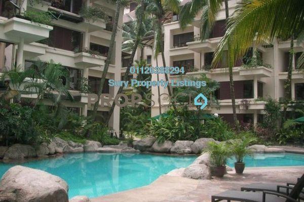 For Rent Condominium at Seri Duta I, Kenny Hills Freehold Semi Furnished 2R/2B 3k