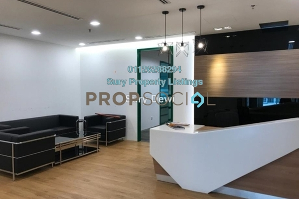 For Rent Office at Glomac Damansara, TTDI Freehold Fully Furnished 0R/6B 39.3k