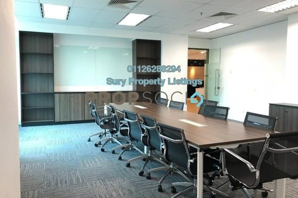 For Rent Office at Glomac Damansara, TTDI Freehold Fully Furnished 0R/0B 236k