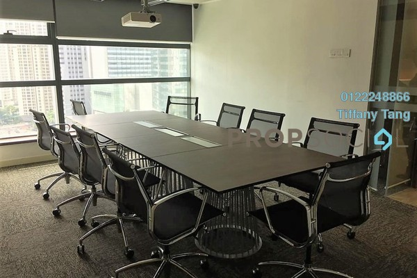 For Rent Office at GTower, KLCC Freehold Fully Furnished 0R/0B 21.5k