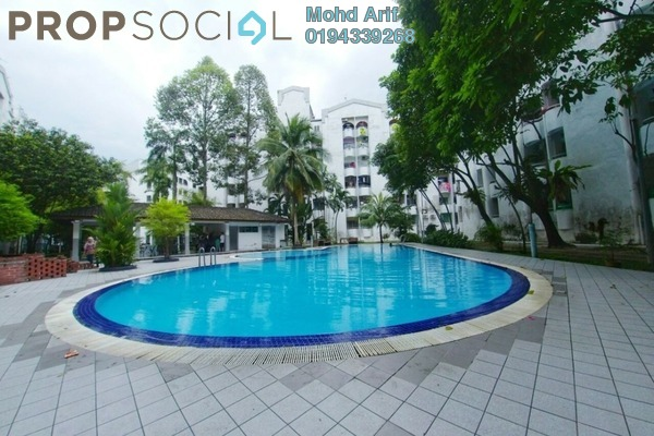 Condominium For Sale in Fawina Court, Ampang Freehold Semi Furnished 3R/5B 290k