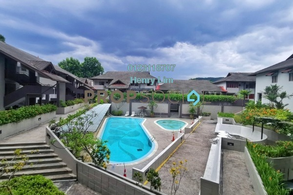 Condominium For Sale in Trellises, TTDI Freehold Semi Furnished 2R/2B 700k