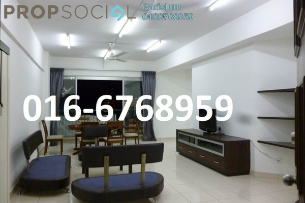 Condominium For Sale in Villa Wangsamas, Wangsa Maju Freehold Fully Furnished 4R/3B 500k