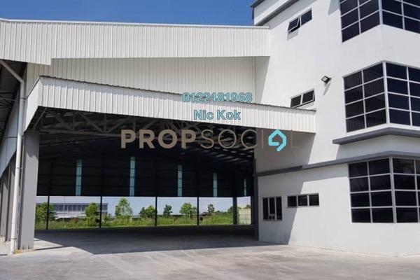 Factory For Sale in Kawasan Industri Hi-Tech, Kapar Freehold Unfurnished 0R/0B 9.1m