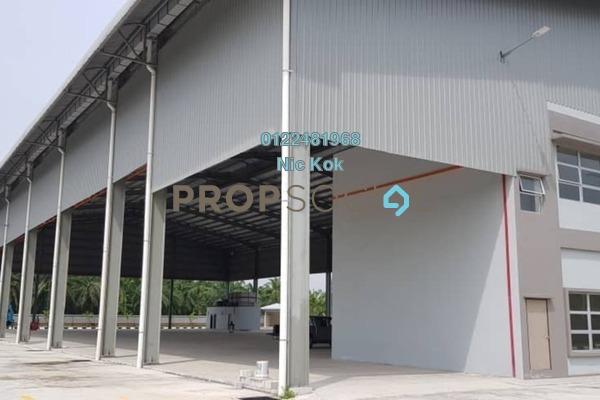 Factory For Sale in Telok Mengkuang, Telok Panglima Garang Freehold Unfurnished 0R/0B 18m
