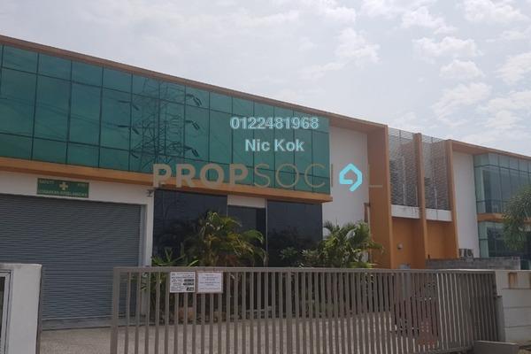 Factory For Sale in Kawasan Perindustrian Meru Barat, Meru Freehold Fully Furnished 0R/0B 5.8m
