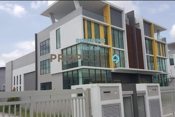 Factory For Sale in Taman Sungai Kapar Indah, Kapar Freehold Unfurnished 0R/0B 3.15m