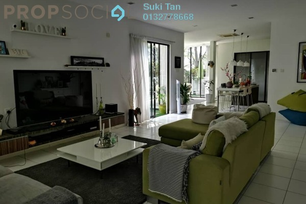 Superlink For Sale in Valencia, Sungai Buloh Freehold Semi Furnished 6R/6B 2.2m