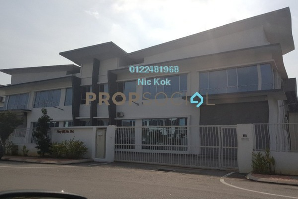 Factory For Sale in Taman Perindustrian Air Hitam, Klang Freehold Unfurnished 0R/0B 4.6m