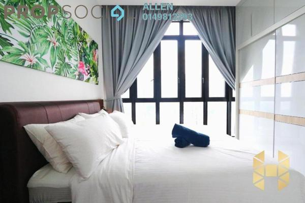 For Rent Condominium at D'Pristine, Medini Freehold Fully Furnished 2R/2B 1.4k
