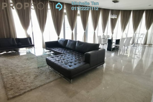 For Rent Serviced Residence at K Residence, KLCC Freehold Fully Furnished 3R/3B 7.5k