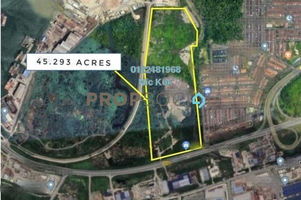 Land For Sale in Kampung Telok Gong , Port Klang Freehold Unfurnished 0R/0B 148m
