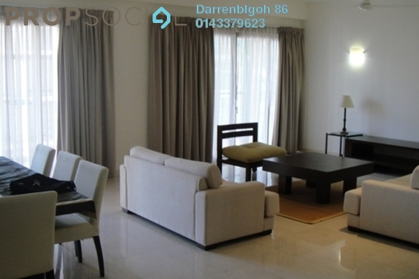 For Rent Condominium at Hampshire Park, KLCC Freehold Fully Furnished 2R/2B 6k