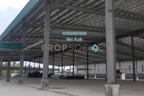 Factory For Sale in Kampung Telok Gong , Port Klang Freehold Unfurnished 0R/0B 25m