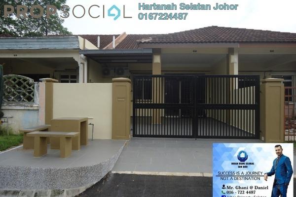Terrace For Sale in Bandar Kangkar Pulai, Pulai Freehold Fully Furnished 3R/2B 380k