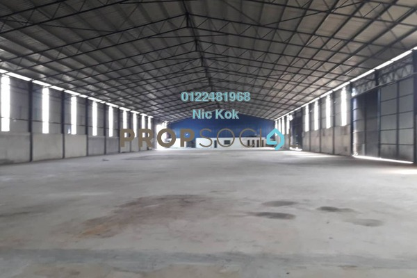 Factory For Sale in Jenjarom, Selangor Freehold Unfurnished 0R/0B 36m