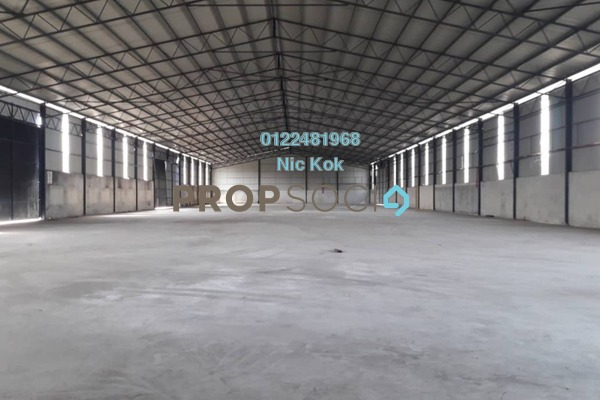 Factory For Rent in Jenjarom, Selangor Freehold Unfurnished 0R/0B 83k